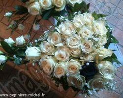 """Pépinière Michel - Rivesaltes - Mariage """"Noir et Blanc"""""""